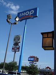 IHOP /  Hillsboro, Texas. USA - 28 Juin 2010