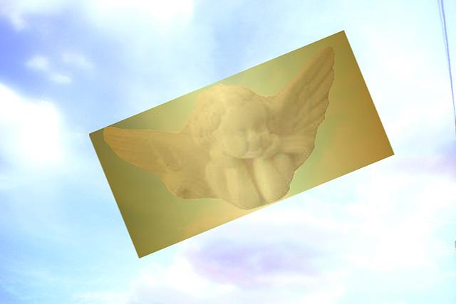 un Ange venu du ciel