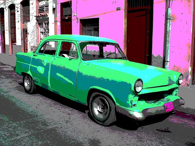 FORD / Matanzas, CUBA. 5 février 2010 -  RVB postérisé.