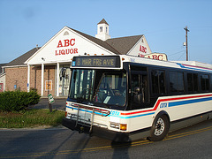 ABC liquor bus / Colombus, Ohio. USA.  25 juin 2010