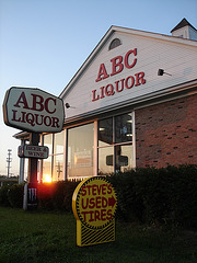 ABC liquor / Colombus, Ohio. USA.  25 juin 2010