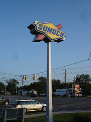 Sunoco !!   Colombus, Ohio. USA.  25 juin 2010