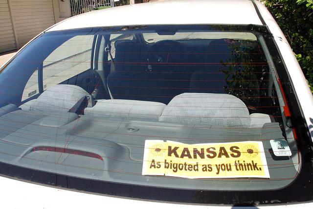 Kansas - As Bigoted As You Think (7812)