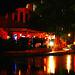 River walk by the night /  San Antonio, Texas. USA - 28 juin 2010 - Couleurs ravivées
