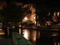 River walk by the night /  San Antonio, Texas. USA - 28 juin 2010