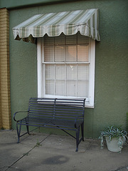 Banc commercial / Commercial bench