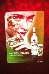Bacardi-rumo, afiŝo