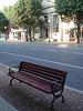 National bank's bench / Banc financier