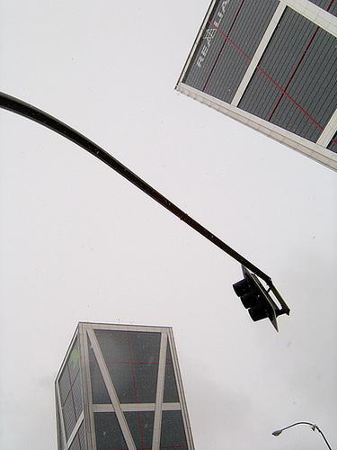 A Plaza castilla. Madrid. Torres KIO-2