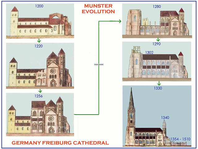 Freiburg Munster Evolution