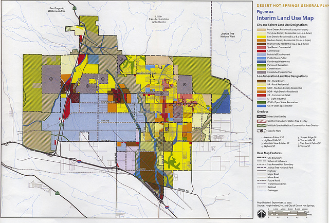 DHS General Plan Land Use - Two-year Interim