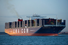 CMA CGM Marco Polo (London)