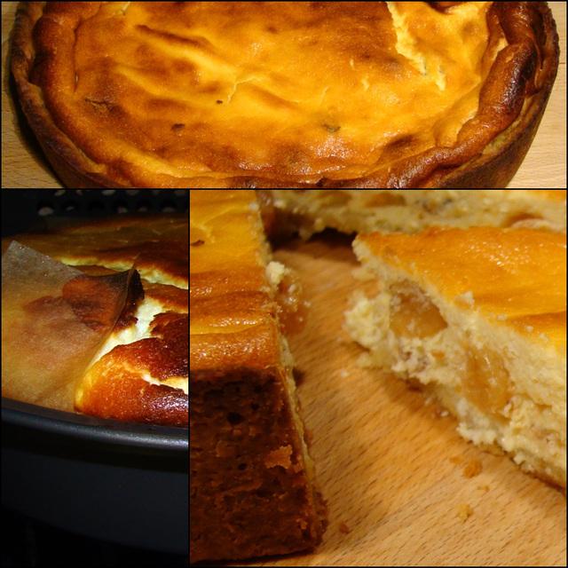 Cheesecake met rozijnen