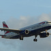 G-EUYH approaching Heathrow - 19 October 2014