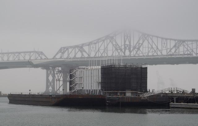 Treasure Island Google barge (0999)