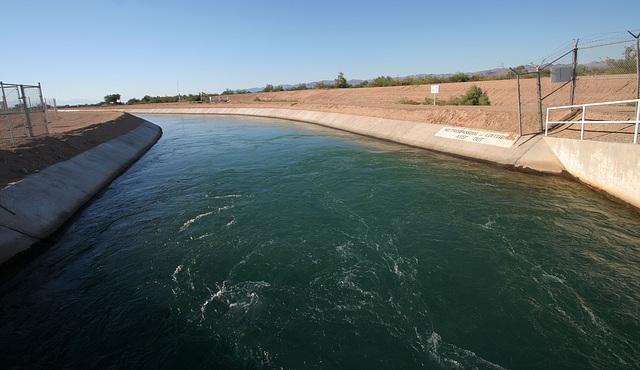 Coachella Canal Near Slab City (8029)