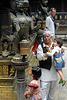 Inside Mani Keshar Chowk in Patan