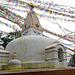 Prayer flags at Swayambhunath