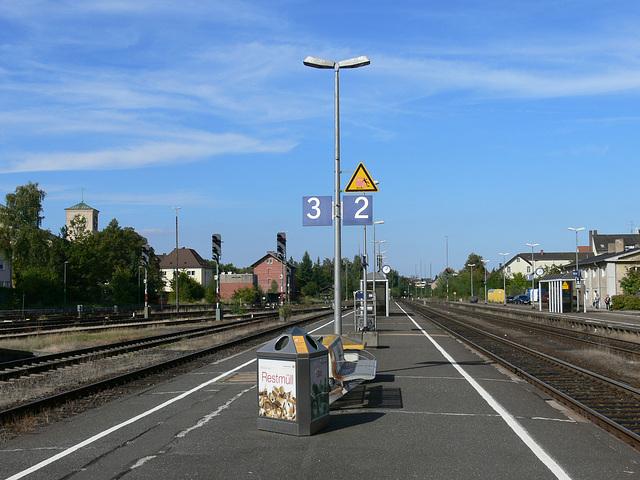 Weiden/Oberpfalz - Bahnhof