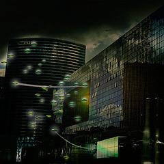 CITY LIGHTS / 1  (NIGHT)