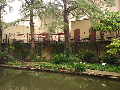 Restaurant Mexicain / Mexican restaurant - San Antonio, Texas. USA - 1er juillet 2010.