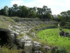 römisches Amphitheater in Syracus