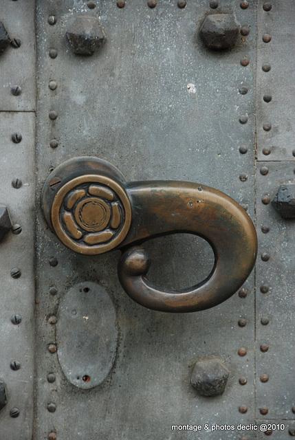 poigneé de porte