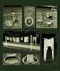 Waschtag bei Iper