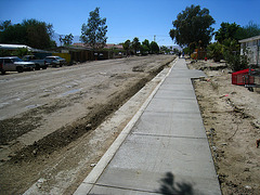 Cahuilla Avenue Sidewalk (6015)
