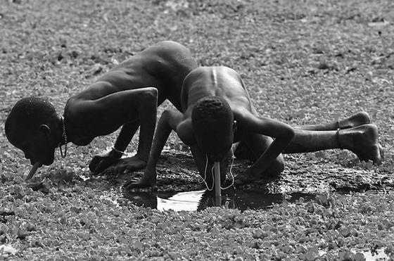 Sudan, drinkable swamp