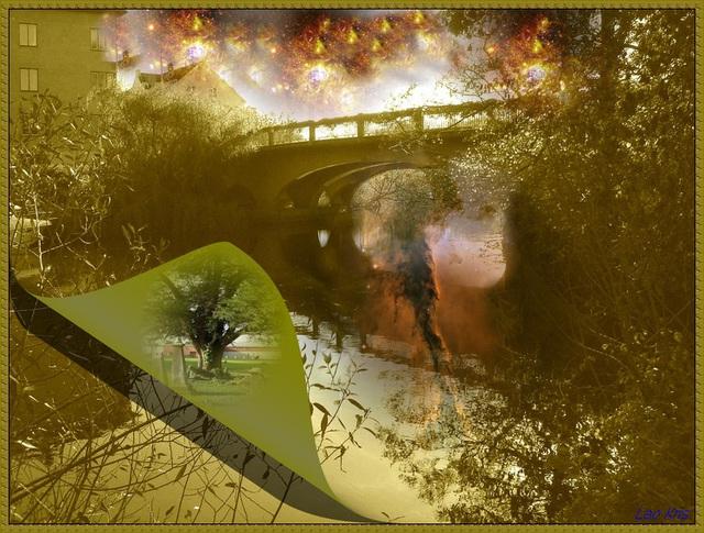 L'esprit de la rivière / The spirit of the river - Création LeoKris.
