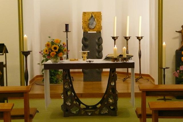 Altar in einer Kapelle
