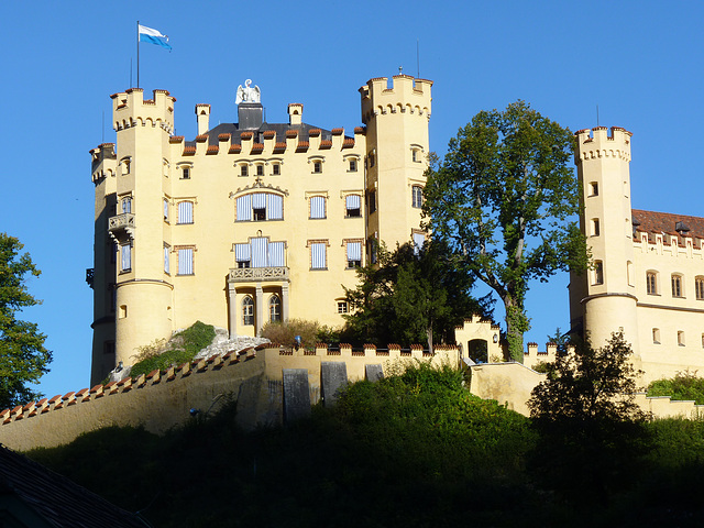Baviera Castillo de Hohenschwagau (1)