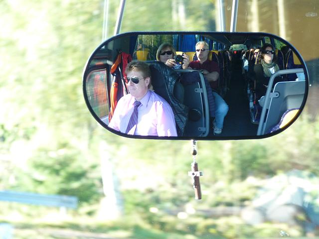 Circuito y autobus