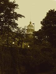 San Antonio, Texas. USA - 30 juin 2010 - Sepia