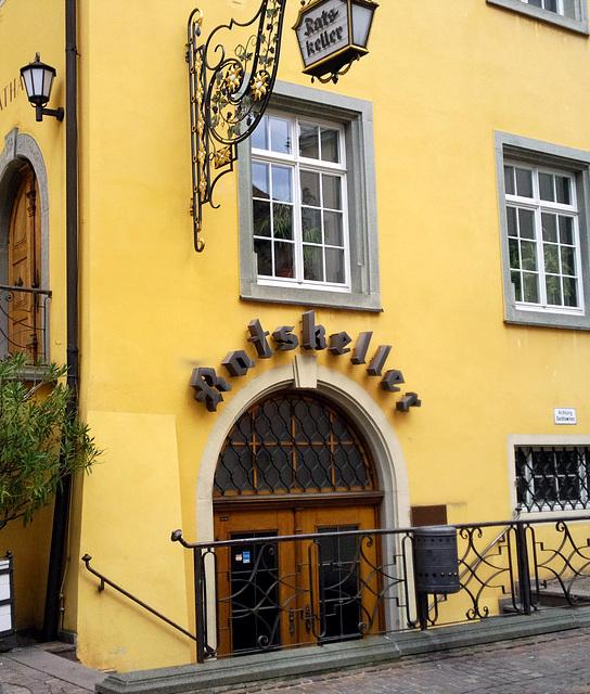 Rathaus und  Ratskeller