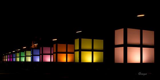 Lichtspiel an der TU und UdK Berlin