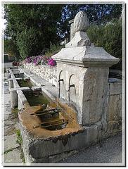 Première fontaine de Camurac - France -  Aude.