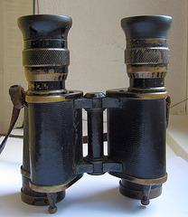 Fernglas Binoculars Jumelles (100 ans vieux)