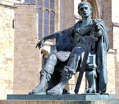 Constantine The Great, Roman emperor AD 306-337.