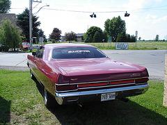La Plymouth de la Patate à Nanou's - Sherrington, Qc.  CANADA. 13 juin 2010 - Photo originale