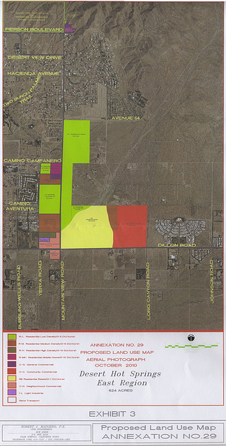 Annexation Number 29 Proposed Land Use Map