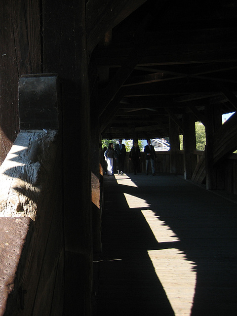 Luzern, Spreuerbrücke