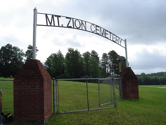 Mt Zion cemetery. Minden, Louisiane - USA - 7 juillet 2010