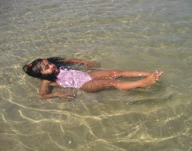 Rafaela, mermaid on shore (2)