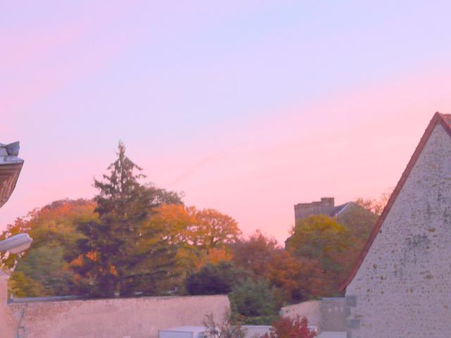 de ma fenêtre le 29 au matin