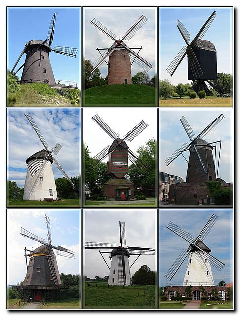 Windmühlen, Sammlung