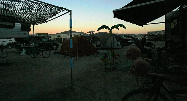 Dusk In Camp (7536)