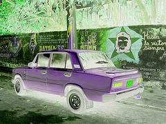 Psychedelic Che Guevara - Négatif RVB