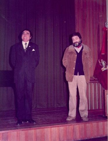 Veselin Damjanov kaj mi-1983
